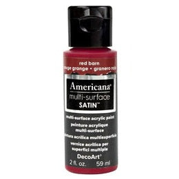 DecoArt Americana Multi-Surface 2oz - Red Barn