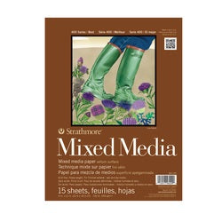 Strathmore 400 Series Mix Media Pad 9x12