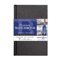 "Stillman & Birn Beta Hardbound Sketchbook 5.5"" X 8.5"""