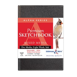 "Stillman & Birn Alpha Hardbound Sketchbook   4"" X 6"""
