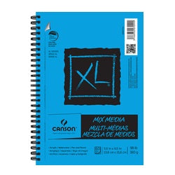 "Canson XL Mix Media Pad 5.5"" X 8.5"""