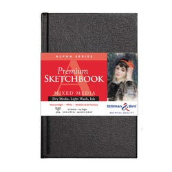"Stillman & Birn Alpha Hardbound Sketchbook  5.5"" X 8.5"""