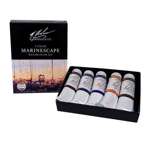 M. Graham Marinescape Watercolor Set