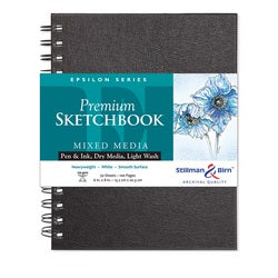 "Stillman & Birn Epsilon Wirebound Sketchbook  6"" x 8"""
