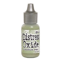 Tim Holtz Distress Oxides Reinker 0.5 fl. oz. - Bundled Sage