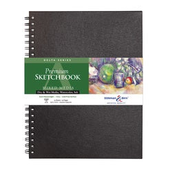 "Stillman & Birn Delta Wirebound Sketchbook  9"" x 12"""