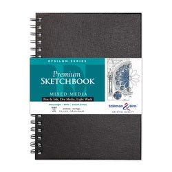 "Stillman & Birn Epsilon Wirebound Sketchbook  7"" x 10"""