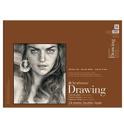 Strathmore 400 Series Drawing Pad - Medium Surface 80 lb 18X24