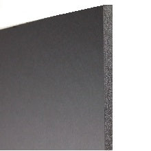 "Foam Board 3/16"" Thickness - 20"" X 30"" Black with Black Core"