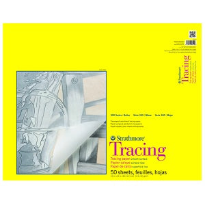 Strathmore 300 Series Tracing Paper 25 lb - 50 Sheets 19X24