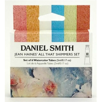 Daniel Smith Watercolor 6 Color Jean Haines' All That Shimmers Set