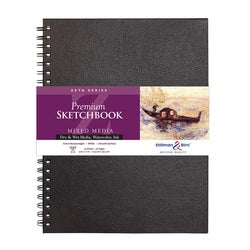 "Stillman & Birn Zeta Wirebound Sketchbook  9"" x 12"""