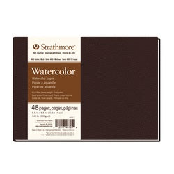 Strathmore 400 Hardcover Watercolor Journal 8.5 X 5.5