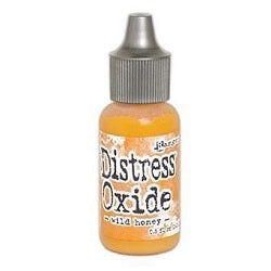 Tim Holtz Distress Oxides Reinker 0.5 fl. oz. - Wild Honey