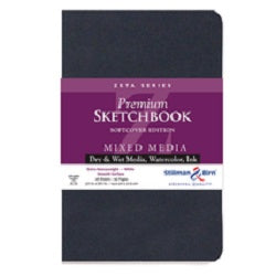 Stillman & Birn Zeta Softcover Sketchbook  Portrait 8x10