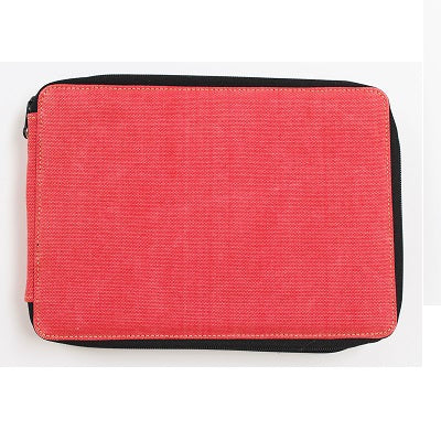 Global Art Canvas Pencil Case 120 Capacity - Rose