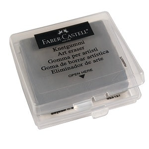 "Faber-Castell Kneadable Eraser in plastic box (approx 1-5/8"" X 1-1/2"")"