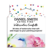 Daniel Smith Watercolor Confetti 36 Color Dot Card Set Packaging