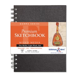 "Stillman & Birn Gamma Wirebound Sketchbook  6"" x 8"""