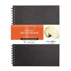 "Stillman & Birn Gamma Wirebound Sketchbook  9"" x 12"""