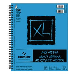 "Canson XL Mix Media Pad 11"" X 14"""