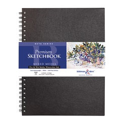 "Stillman & Birn Beta Wirebound Sketchbook  9"" X 12"""