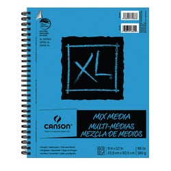 "Canson XL Mix Media Pad  9"" X 12"""