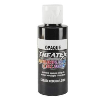 Createx Airbrush Colors Opaque Black 8 fl. Oz.