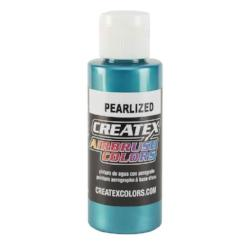 Createx Airbrush Colors Pearlized Turquoise 2 fl. oz.