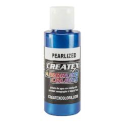 Createx Airbrush Colors Pearlized Blue 2 fl. oz.