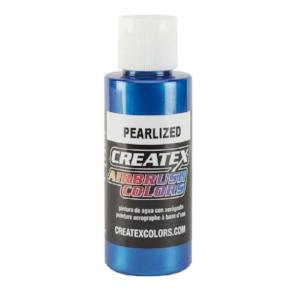 Createx Airbrush Colors Pearlized Blue 4 fl. oz