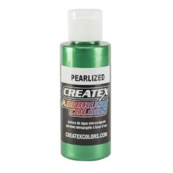 Createx Airbrush Colors Pearlized Green 2 fl. oz.