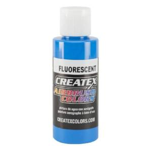 Createx Airbrush Colors Fluorescent Blue 4 fl. oz.