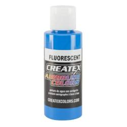 Createx Airbrush Colors Fluorescent Blue 2 fl. oz.