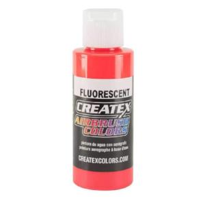 Createx Airbrush Colors Fluorescent Red 4 fl. oz.