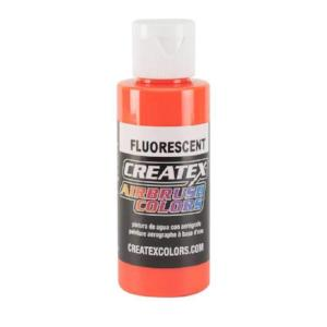 Createx Airbrush Colors Fluorescent Orange 4 fl. oz.