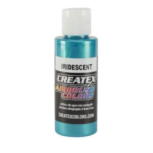 Createx Airbrush Colors Iridescent Turquoise 4 fl. oz.