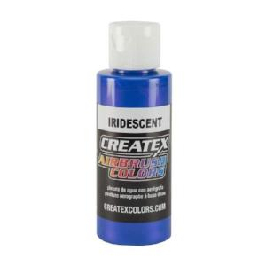 Createx Airbrush Colors Iridescent Electric Blue 4 fl. oz.
