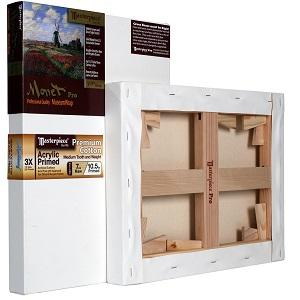"Masterpiece Monet Pro 1-1/2"" Deep Profile - Monterey 7 ounce Canvas 20""x20"""