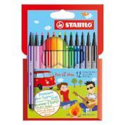 Stabilo Mini Pen 68 Wallet Set of 12