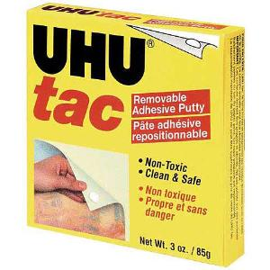 UHU Tac Removable Adhesive Putty 3 oz.