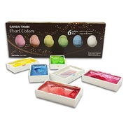 Gansai Tambi Watercolor 6 Color Pearl Set