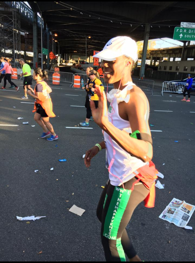 Running a NYC Marathon with a Torn Knee Treated by The Happy Knee method