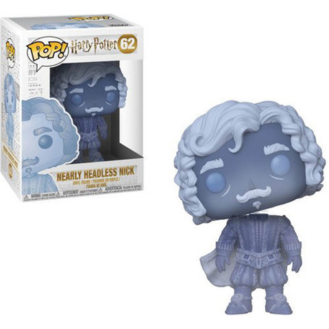 Pop! Moves HP: S5- Nearly Headless Nick (Blue Translucent) -Funko Pop! tysolutionsusa.com