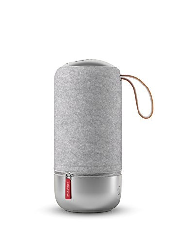 Libratone ZIPP MINI Copenhagen Edition Wireless SoundSpaces Lautsprecher (Multiroom, SoundSpaces, AirPlay, Bluetooth, DLNA, WiFi) Salty Grey