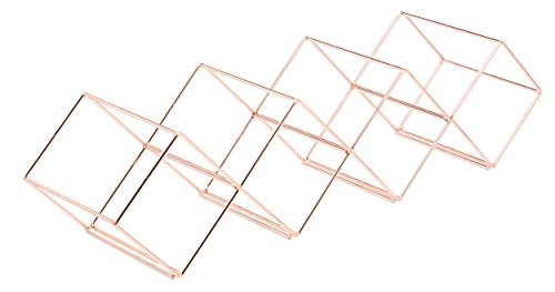 Bar Craft Weinregal, 58 x 14,5 x 14,5 cm, 7 Flaschen, stapelbar