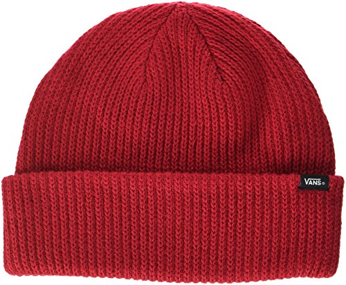 Vans_Apparel Herren Strickmütze Core Basics Beanie, Rot (Chili Pepper), One size
