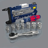 Wera Red Bull Racing Bit-Sortiment: Tool-Check Plus, 39-teilig, 39 Stück, 05227704001