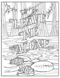 F*ck Off, I'm Coloring: Unwind with 50 Obnoxiously Fun Swear Word Coloring Pages (Dare You Stamp Company)