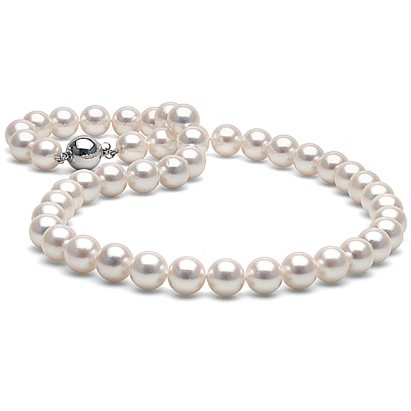 Pearl Product Spotlight: Akoya Pearl Necklace 9.0-9.5m